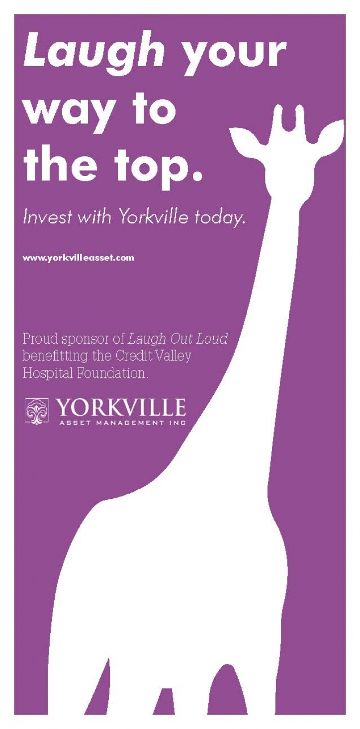 Credit Valley Hospital Foundation's Laugh Out Loud Comedy Gala