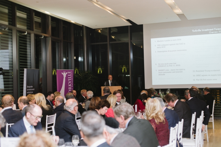 Yorkville hosts its annual Investment Forecast Series